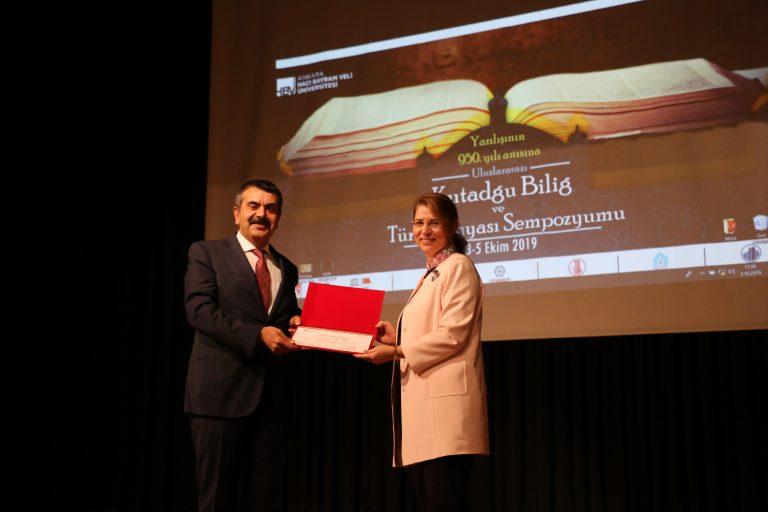 Uluslararası Kutadgu Bilig ve Türk Dünyası Sempozyumu