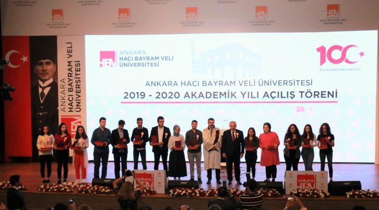 AHBVU'da akademik yıl açılış töreni yapıldı
